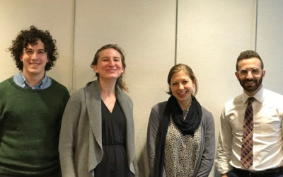 Our Visit with Dr. Sarah Fineberg and Her Team at Yale School of Medicine